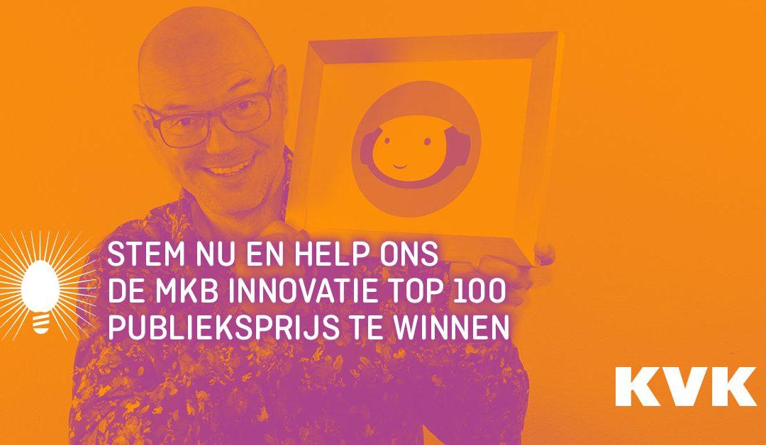Stem op weMaron zodat Bob de Bot Nederland een stuk socialer maakt!